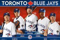 TORONTO BLUE JAYS - 2018 TEAM POSTER - 22x34 - MLB BASEBALL 16955