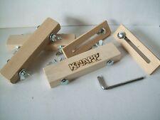 Knapp Frässchablone Zubehör Set  für Schablone Fräslehre Holz Verbinder System