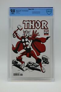 Thor (2020) #13 Michael Cho Two-Tone Variant CBCS 9.8 Blue Label White Pages