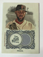 2019 Topps Allen & Ginter David Price Relic Patch Baseball Card Boston Red Sox