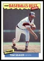 1986 Fleer Baseball's Best Tom Seaver Chicago White Sox #34
