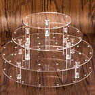 4 Tier Lollipop Cake 35 Holes Display Stand Wedding Holder Base Server Clear