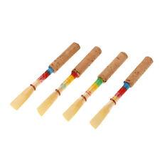 4x Oboe Reed - Oboenrohr - Oboe Schilf  in Aufbewahrungsbox Ersatz Zubehör