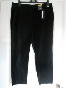 Marks /& Spencer M/&S Collection Black Mid Rise Slim Trousers Size 14R  BNWT