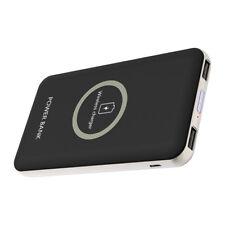 Qi Wireless 100000mAh Powerbank Charger Kabelloses Zusatzakku Ladegerät Batterie