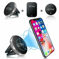 Car Magnetic Air Vent Mount Holder Stand for iPhone Cell Phone GPS Samsung