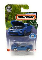 Matchbox MBX Superfast 2019 Chevrolet Camaro blau Moving Parts Blister