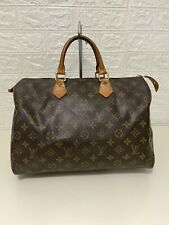 Authentic Louis Vuitton Speedy 35 Monogram Preowned Handbag