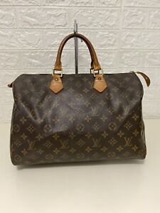 Authentic Louis Vuitton Speedy 35 Monogram Preowned Handbag