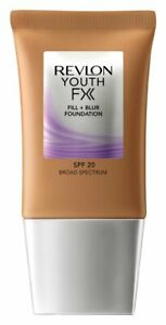 Revlon Youth Fx Fill + Blur Foundation, Caramel, 1 Fluid Ounce