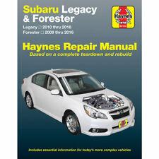 Subaru Forester 2009-2016 Haynes USA Workshop Manual
