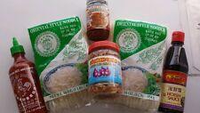 Vietnamese Pho kit rice noodle sriracha Hoisin sauce fried onions Beef Pho Broth