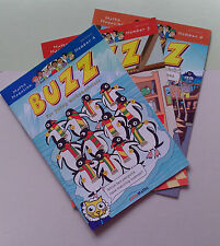 Maths Magazines - (Buzz 4, 5 & 6 (3 New back issues) for 6 - 10 yr olds)