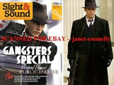 GANGSTERS SPECIAL Johnny Depp Public Enemies SACHA BARON COHEN Sight & Sound Mag