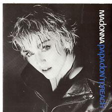 "Madonna - Papa Don't Preach 7"" Single 1986"