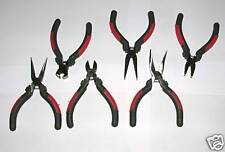 Mini Pliers Set with Spring for Model Building 6 St