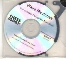 (CT641) Wave Machines, The Greatest Escape We Ever Made - 2008 DJ CD
