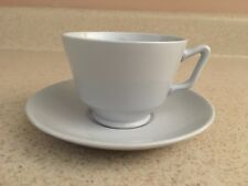 Spode Fine Stone Graystone Footed Tea Cup w/ Saucer