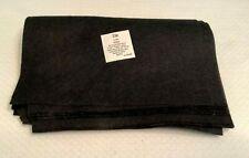 "New listing 9 x 12"" Black Felt Sheets Fabric Art Craft Supplies *Lot of 8 Sheets"