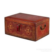 A Very Large Red Leather Despatch Box from the Household of Queen Victoria. 9938