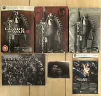 Gears Of War 2 Limited Edition 2008 Microsoft Xbox 360 Game Complete VG