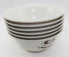 Set of 6~ Quality Japanese Beige Soup Bowls. Great gift. USA Seller
