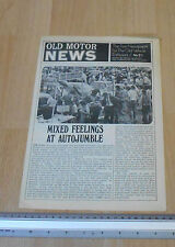 Old Motor Newspaper No 21
