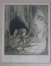 Folke Berg Wilhelmsson * 1896 biblico atto scena-Potifar-monaco 1921