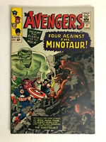 THE AVENGERS (1965) #17  1ST APPEARANCE OF THE MINOTAUR HULK STAN LEE DON HECK