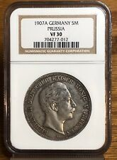 1907A Germany 5M Prussia VF30 NGC NH012