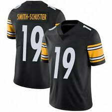 NWT JUJU SMITH-SCHUSTER JERSEY - STITCHED BLACK #19 - S-3XL- PITTSBURGH STEELERS