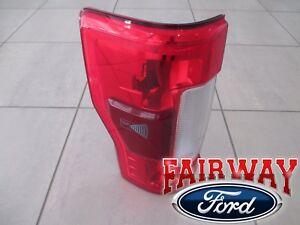 17 thru 19 Super Duty F250 F350 OEM Ford Tail Lamp Light w/RADAR Non-LED Driver