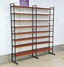 More details for vintage ladderax teak shelving wall unit sideboard heals retro 50s 60s 70s mcm