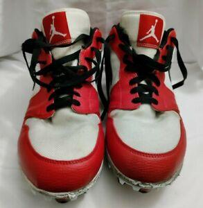 Nike Air Jordan Retro 1 Baseball Cleats AV5292-106 US Size 11.5