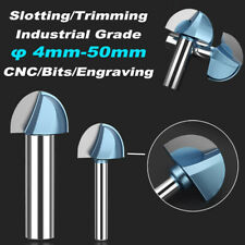 Round Bottom Router Bits End Mill 635127mm Slotting Trimming Milling Cutter