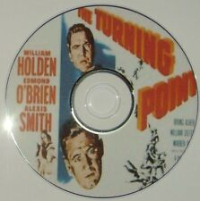 FILM NOIR 386: THE TURNING POINT (1952) Dieterle William Holden, Edmond O'Brien