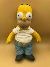 The Simpsons Homer Simpson Applause Plush Soft Stuffed Toy Doll Fox Cartoon 2003