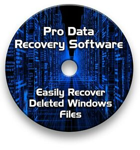 PRO FILE RECOVERY RESCUE DATA, FILES, MUSIC, PHOTOS - RECOVERY CD
