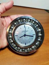 SKF 75th Anniversary Ball Bearing Clock Paperweight, 1982