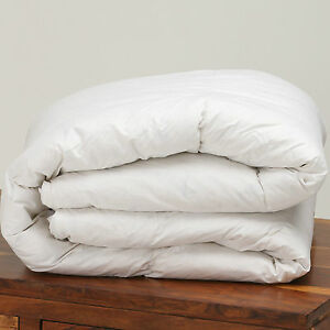 Hungarian White Goose Feather and Down Duvet Quilt Luxury All Tog & Bed Sizes