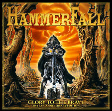 Hammerfall - Glory to The Brave Ltd 20th Anniversary Black Vinyl 2lp Mint/
