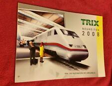 Trix Katalog Neuheiten 2008 188 Seiten neuwertig