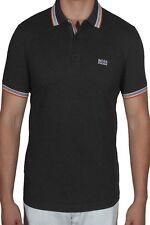 Hugo BOSS Paddy Men's Polo Shirt Short Sleeve Regular Fit 50302557 011 Charcoal