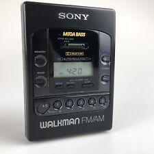 SONY Walkman WM-F2085 Personal Cassette Player Vintage Rétro-Rare 100% Working