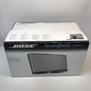 RARE NEW IN BOX Bose SoundDock Series II 2, Complete Remote iPhone 3 4 iPod