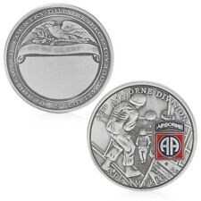 82nd Airborne Division All American Commemorative Challenge Coin Collection Gift