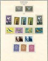 PORTUGAL 1960 STAMPS ISSUES  MINT NEVER HINGED AS SHOWN