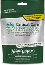 New listing Oxbow Critical Care Apple/Banana Pet Supplement