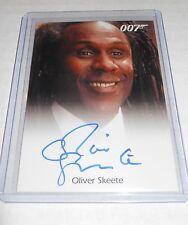 James Bond 007 Autograph Trading Card Oliver Skeete as Concierge
