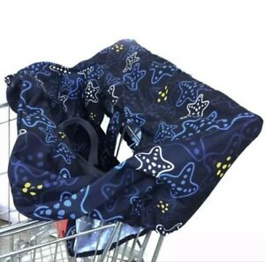 New Baby unisex shopping cart cover! Star Design! Great Gift!